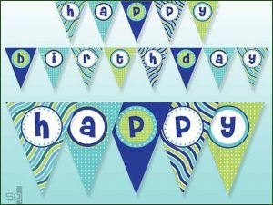 Free Printable Happy Birthday Banner Letters