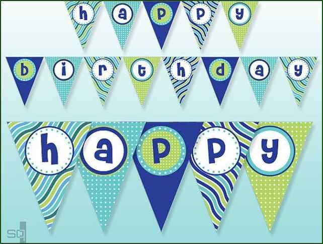 free printable happy birthday banner letters download alphabet