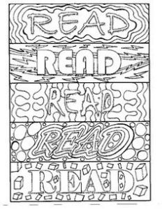 Friendship Bookmarks to Color