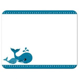 Gender Neutral Whale Nautical Baby Shower Invitations