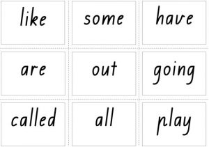 Interactive Sight Words Flash Cards