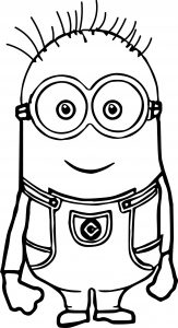 Minion Bookmarks to Color