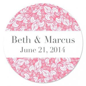 Personalized Wedding Labels For Mason Jars