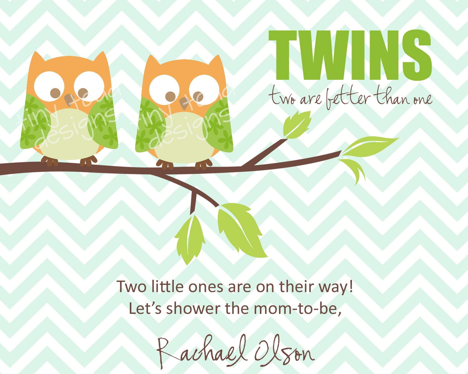 It is a picture of Free Printable Twin Baby Shower Invitations in diy