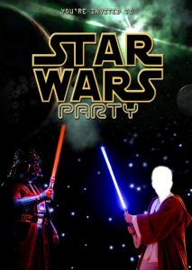 Blank Star Wars Birthday Invitations Star Wars Birthday Invitations With Photo