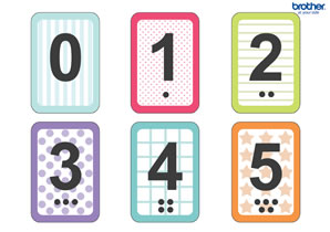 Flash Card Numbers