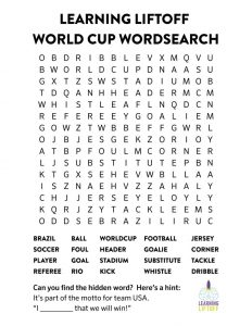 Football Word Search Games