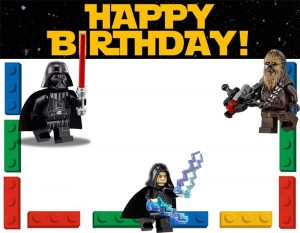 Lego Star Wars Birthday Invitations Free Printables
