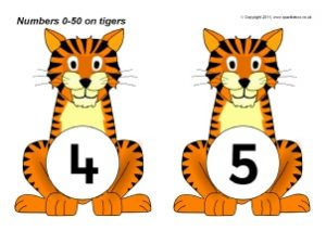 Number of Animals Flashcards