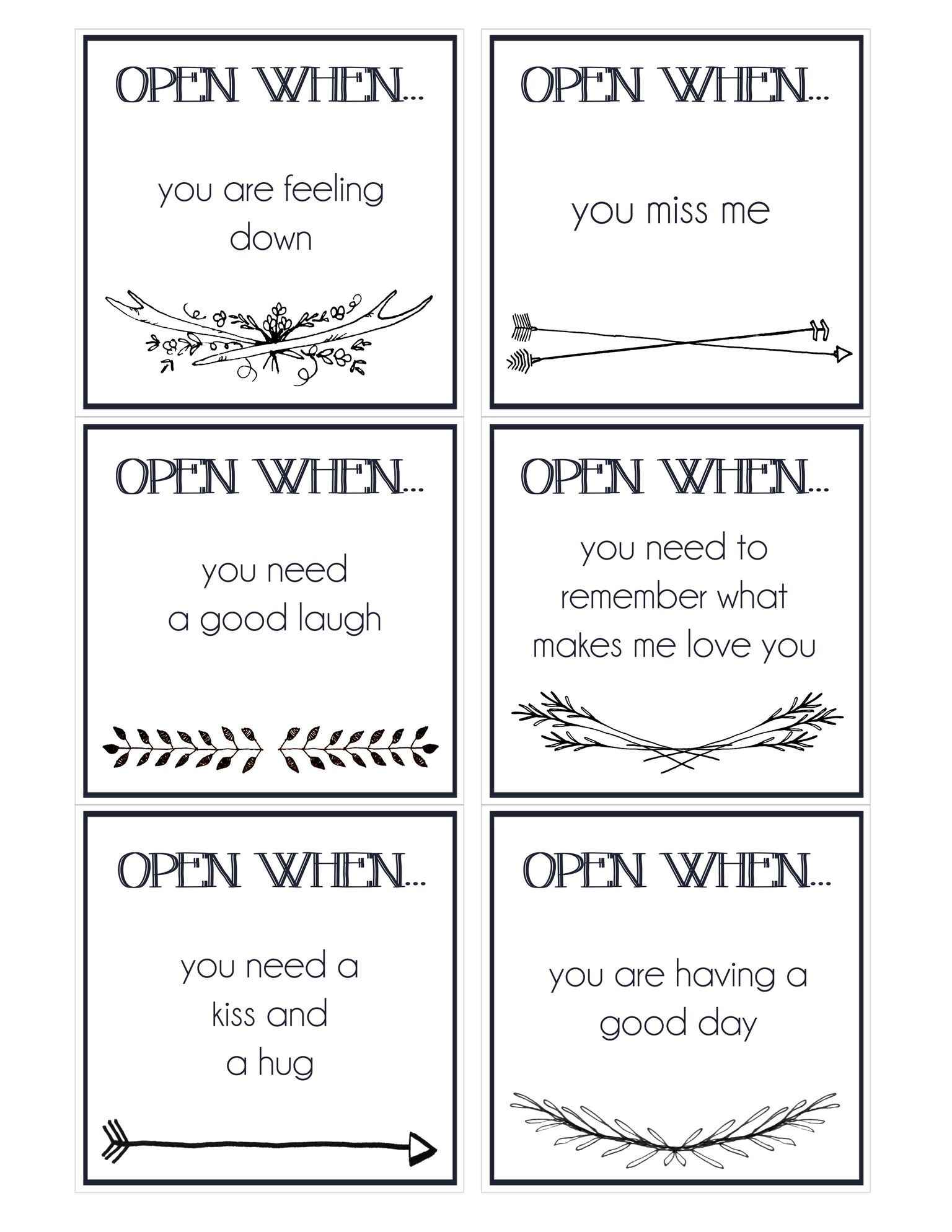 Fabulous image for printable open when letters