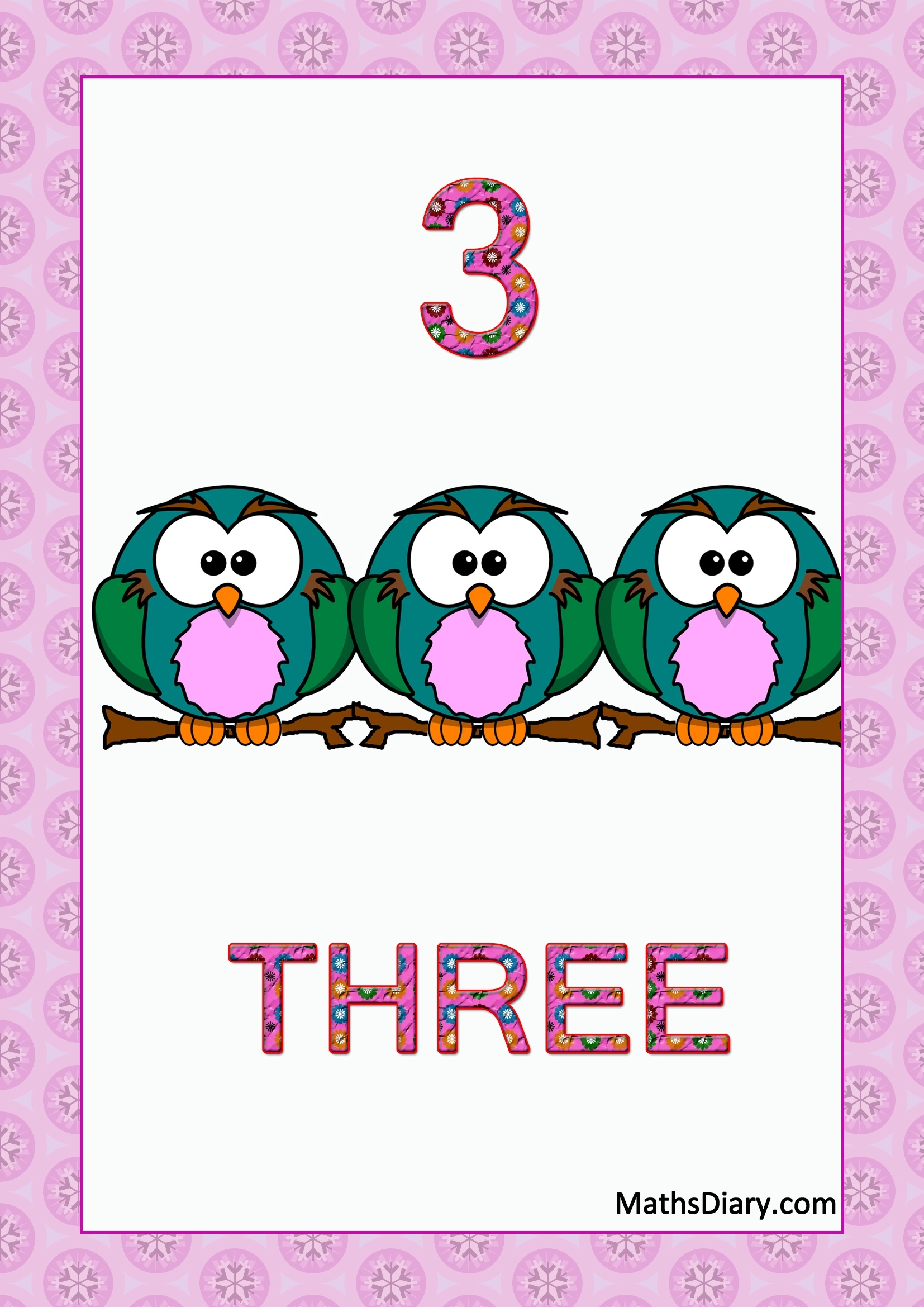 46 Attractive Number Flash Cards Kittybabylove Com