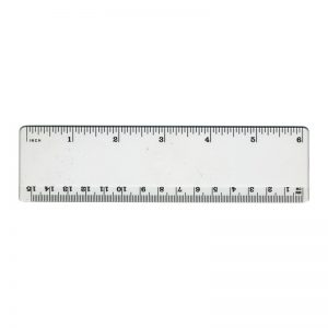 Printable 6 Inch Ruler Actual Size