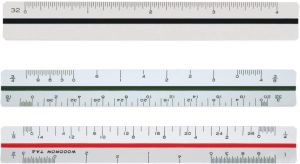 Printable Architectural Scale Ruler