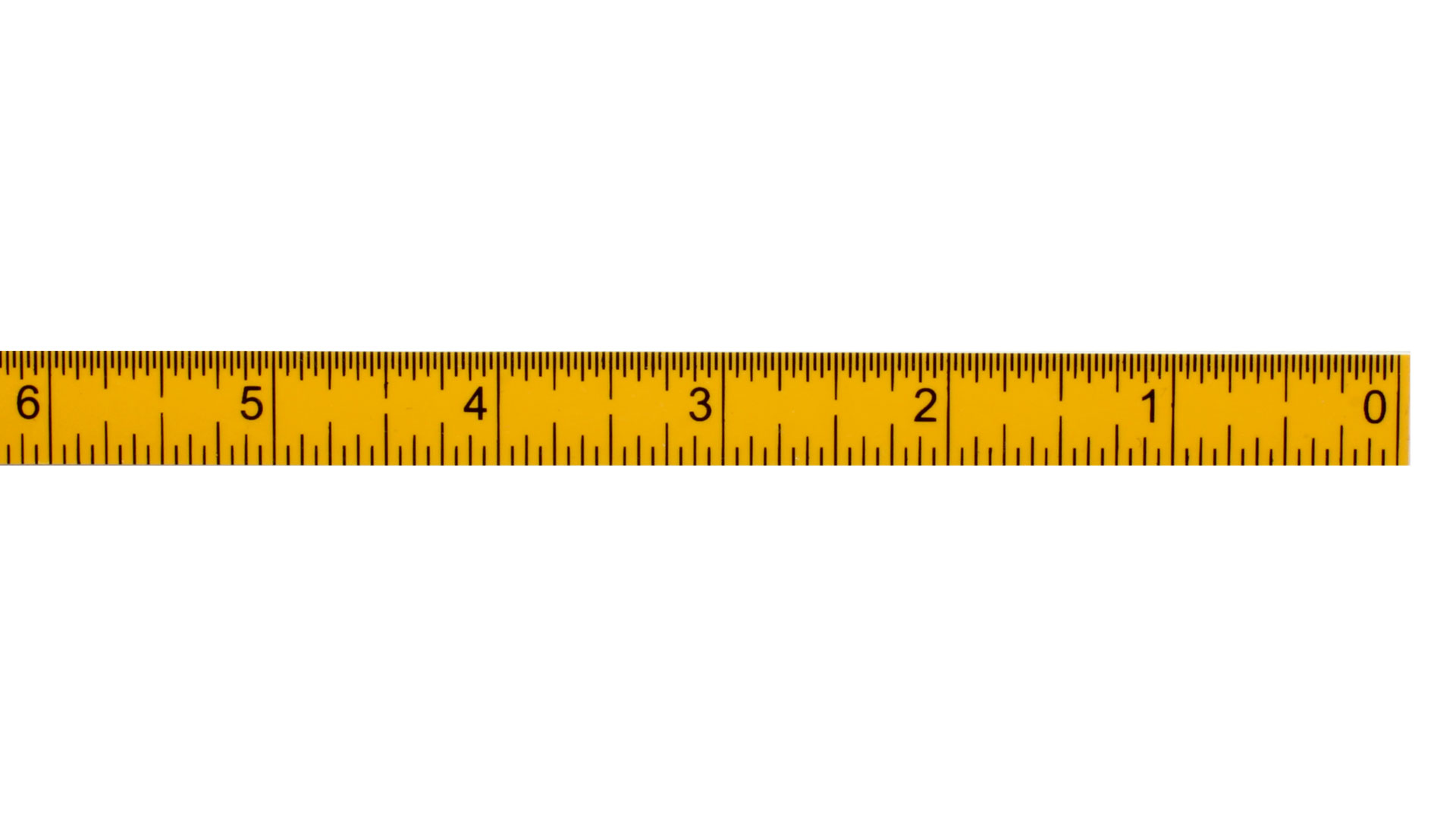 It is a picture of Bright Measurement Tape Printable