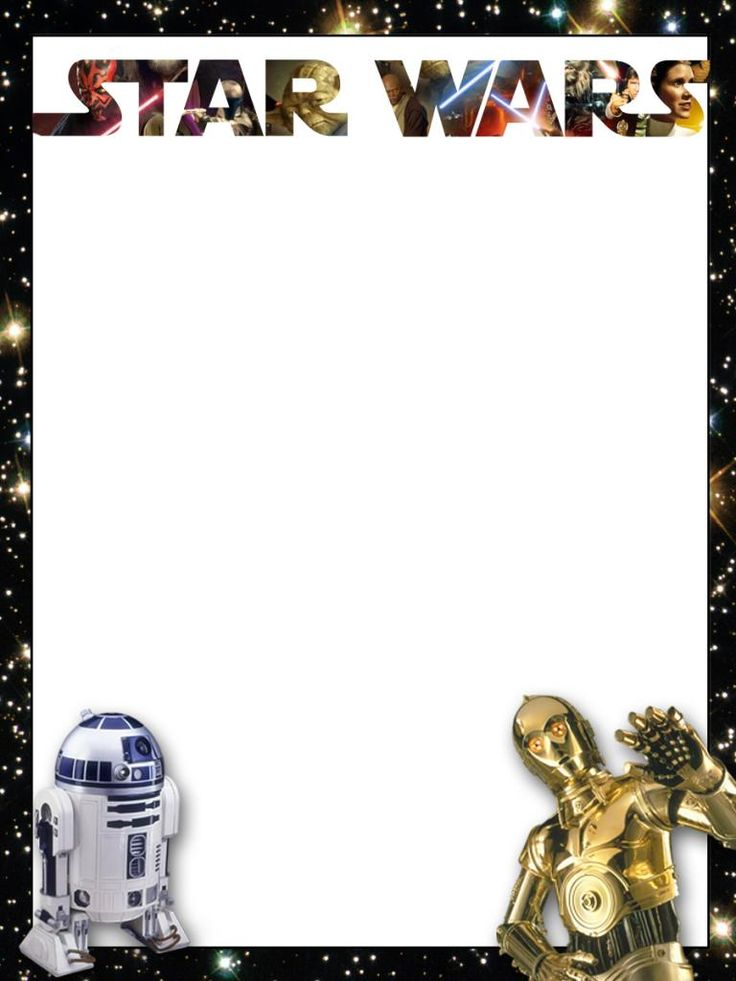image relating to Star Wars Printable Cards identify 32 Outstanding Star Wars Birthday Invites