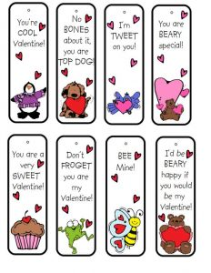 Christian Valentine Bookmarks Free Printable