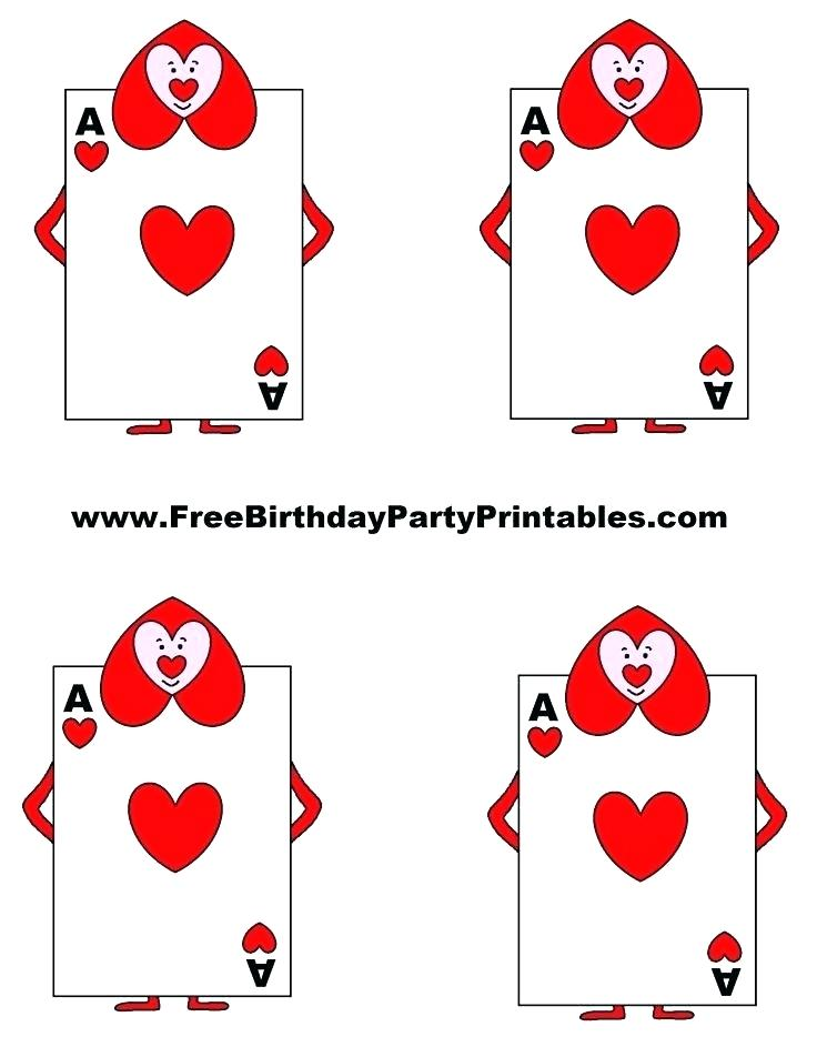 It is an image of Massif Playing Cards Printable