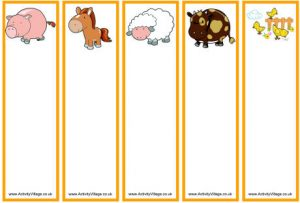 Free Printable Blank Templates Bookmarks