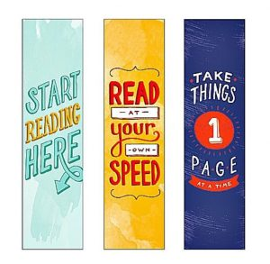 Free Printable Bookmarks for Adults