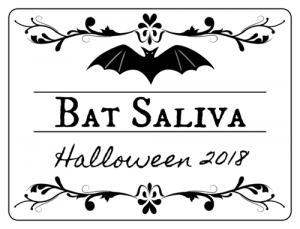 Free Printable Halloween Labels for Bottles
