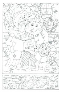 Free Printable Hidden Pictures for Preschoolers
