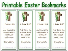 Free Printable Religious Easter Bookmarks