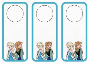 Frozen Bookmarks Printable