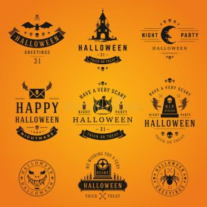 Halloween Ghost Labels