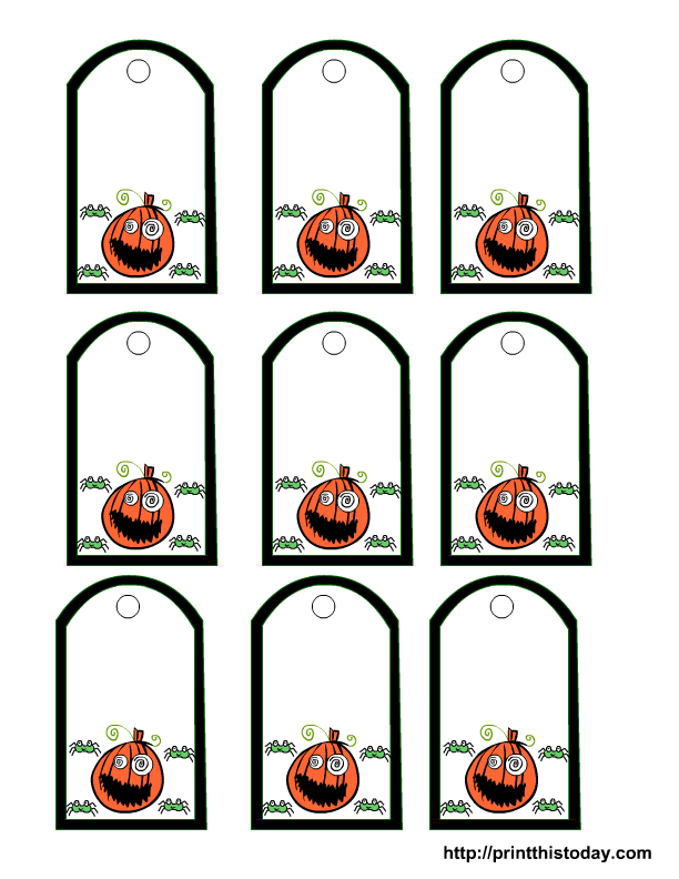 48 spooky halloween labels for you kitty baby love halloween gift labels negle Gallery