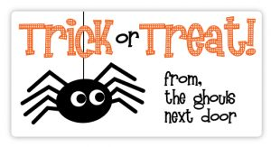 Halloween Labels for Goodie Bags