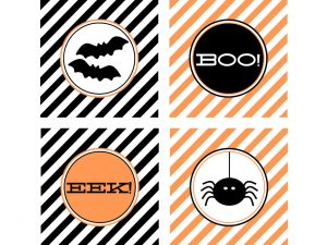 Halloween Themed Labels