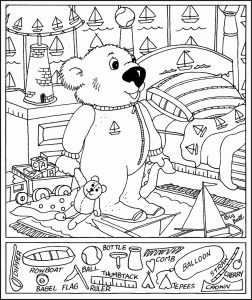 Hidden Pictures Activity Sheets