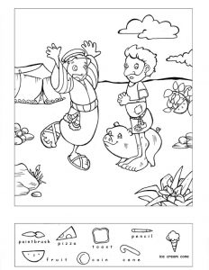 Hidden Pictures for Kindergarten Printable