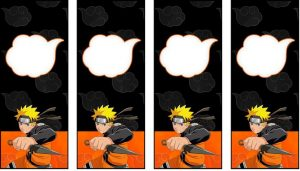 Naruto Bookmarks Printable