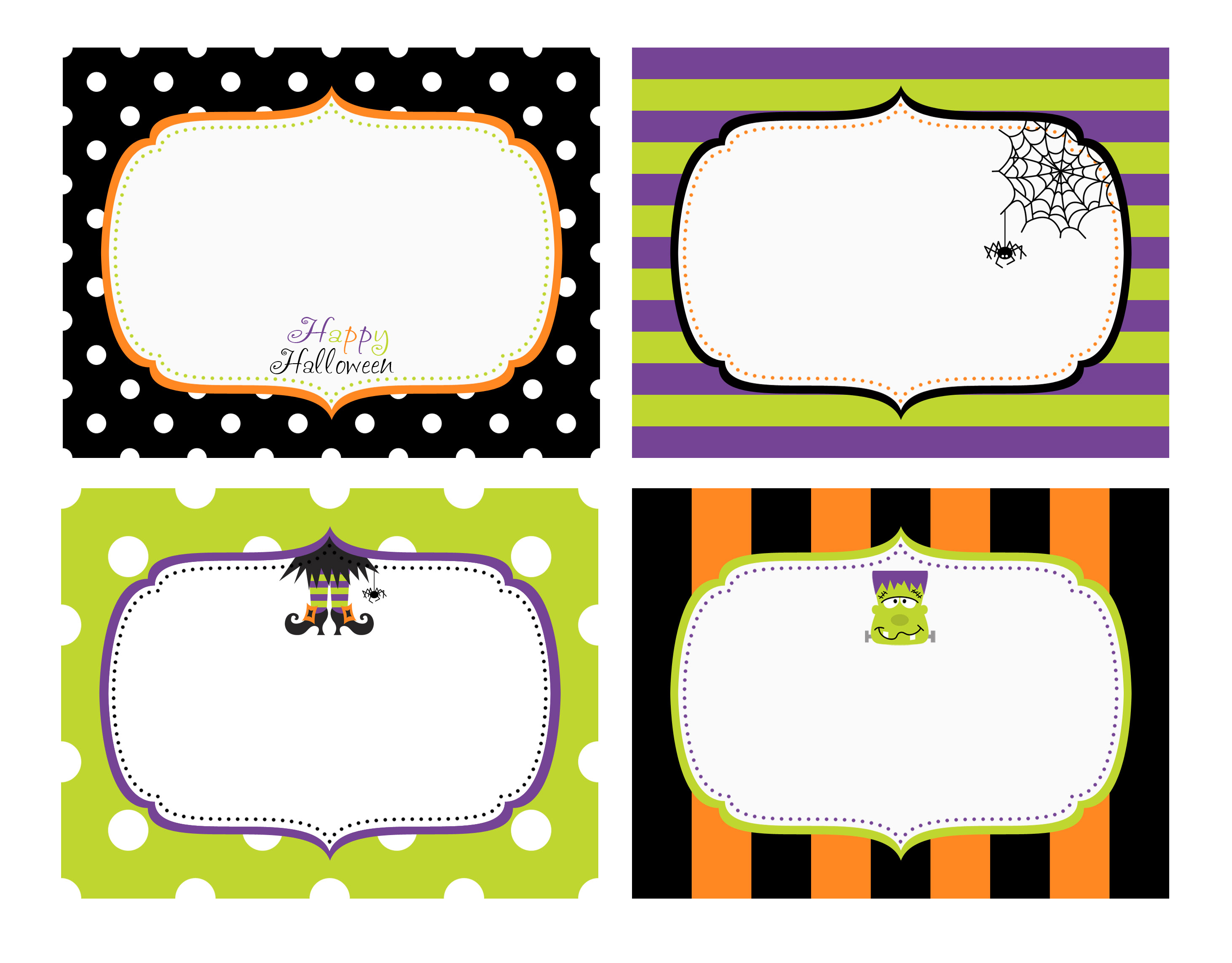 48 spooky halloween labels for you kitty baby love