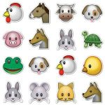 Printable Animal Emojis