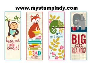 Printable Bookmarks for Children Kids
