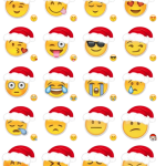Printable Christmas Emojis