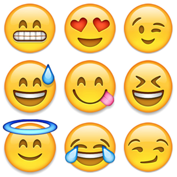 This is an image of Refreshing Printable Emoji Faces