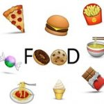 Printable Food Emojis