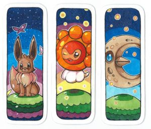 Printable Pokemon Bookmarks