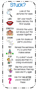Printable Reading Strategies Bookmark