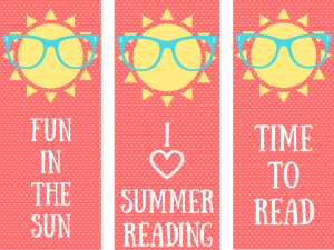 Summer Bookmarks Printables