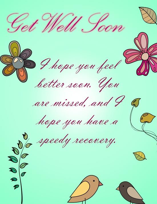 photograph about Get Well Soon Cards Printable referred to as 24 Stress-free Printable Purchase Effectively Playing cards
