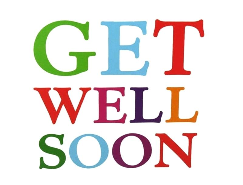 It's just a picture of Dynamic Get Well Card Printable
