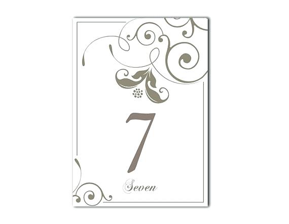 Superb image pertaining to printable table number