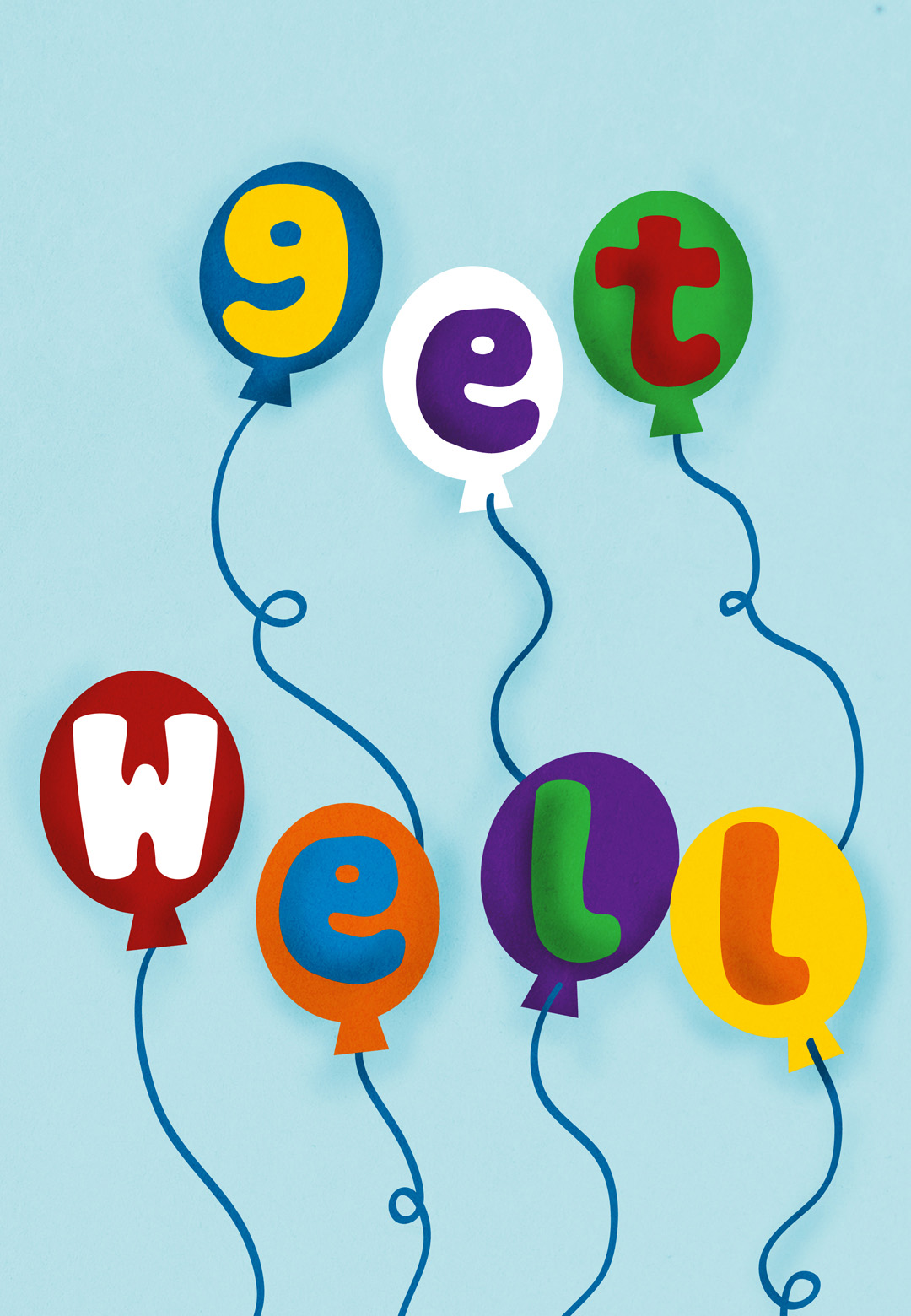 image relating to Get Well Card Printable named 24 Stress-free Printable Receive Nicely Playing cards