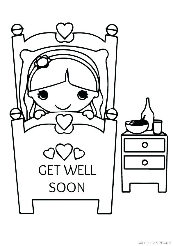 24 Comforting Printable Get Well Cards | KittyBabyLove.com