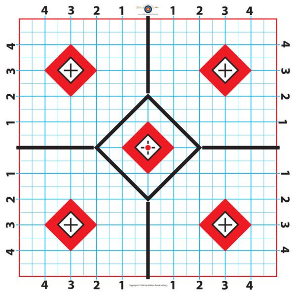 photo relating to Ar15 25 Yard Zero Target Printable identified as 60 Enjoyable Printable Objectives