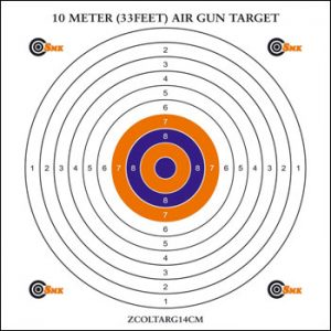 Printable Air Rifle Targets